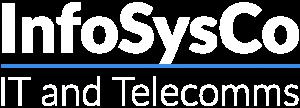 InfoSys Logo White